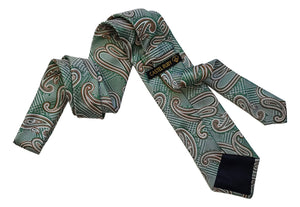 Paisley Ties: Monochromatic, Matching Colors,  Contrasting Colors, or Polychromatic