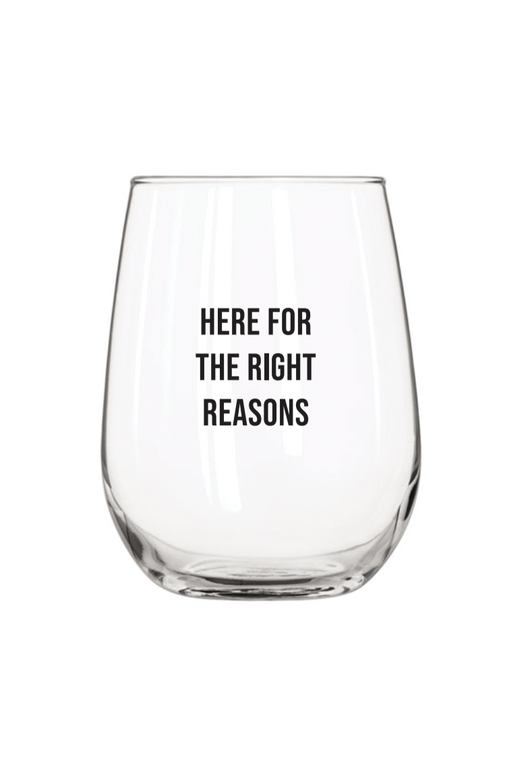 Reasons Wine Glass Set