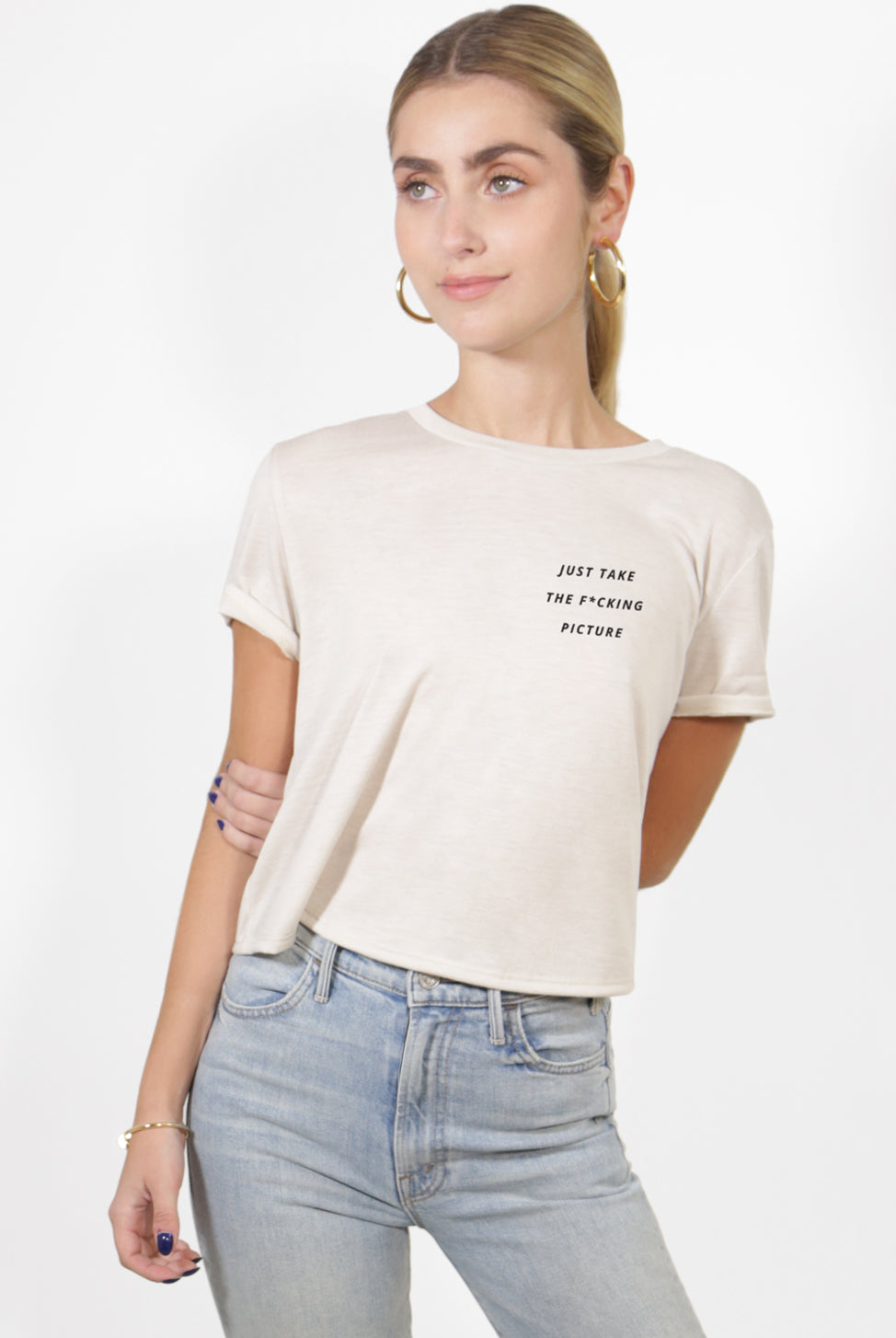 Just Take The F*cking Picture Cropped Tee