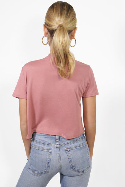 Out Of Office Cropped Tee
