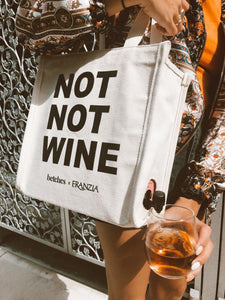 Betches x Franzia Not Not Wine Tote