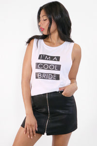 I'm a Cool Bride Basic Women's Tank