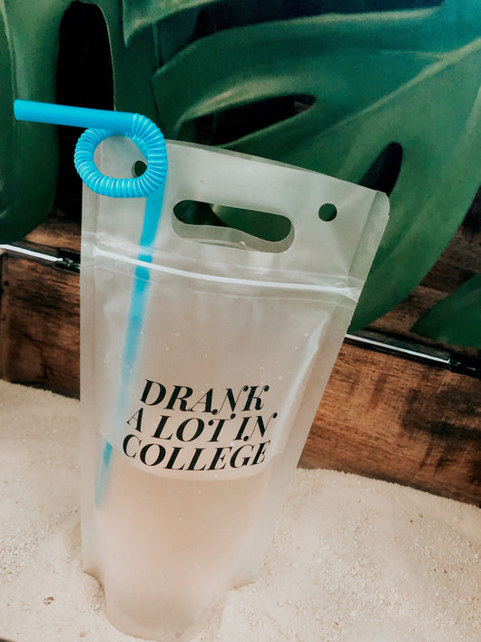 Set of 4 Drink Pouches