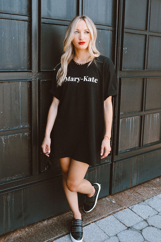 Mary-Kate Oversized T-Shirt Dress