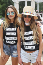 She's Not A Regular Bride Basic Women's Tank