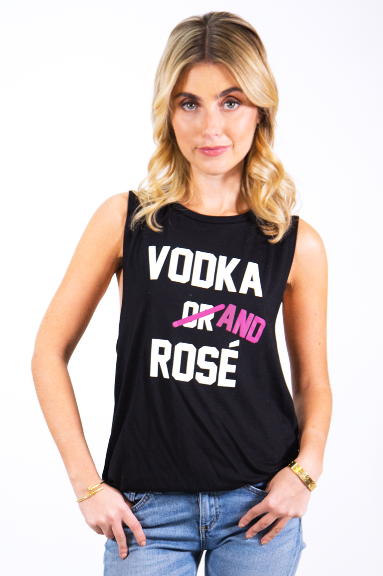 Vodka And Rosé Flowy Tank X Three Olives Vodka