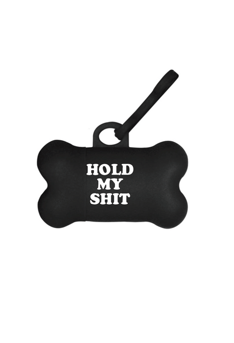 Hold My Shit Poop Bag Holder