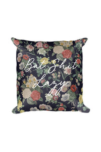 Bat Shit Lazy Throw Pillow
