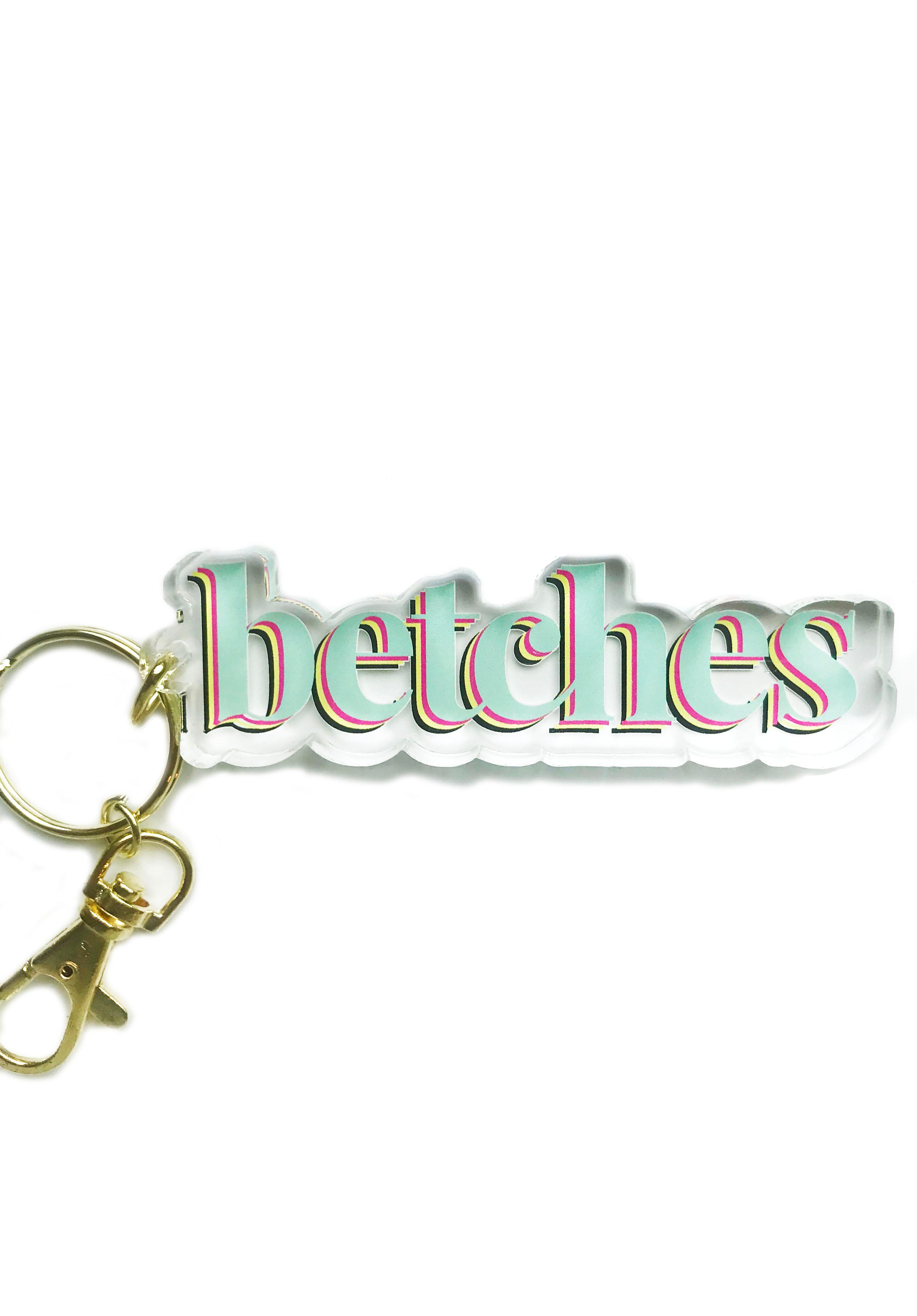 Betches Keychain
