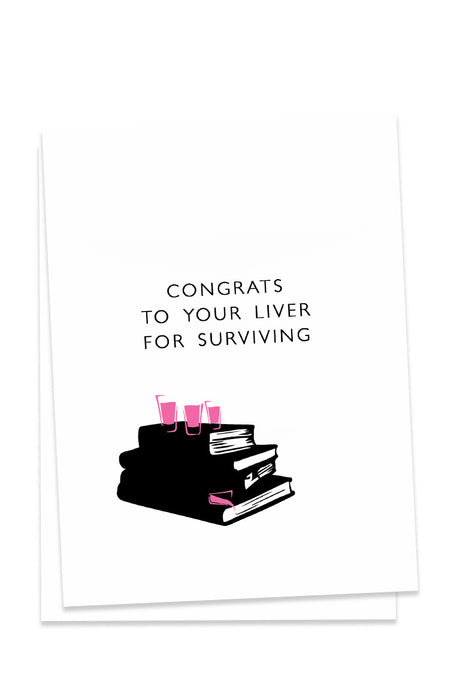 Congrats To Your Liver Card