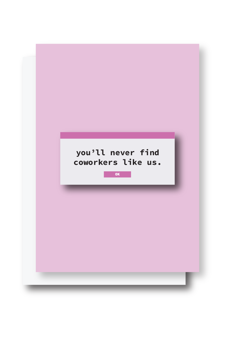 Coworkers Card