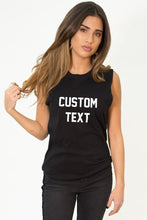 Custom Text Basic Unisex Tank
