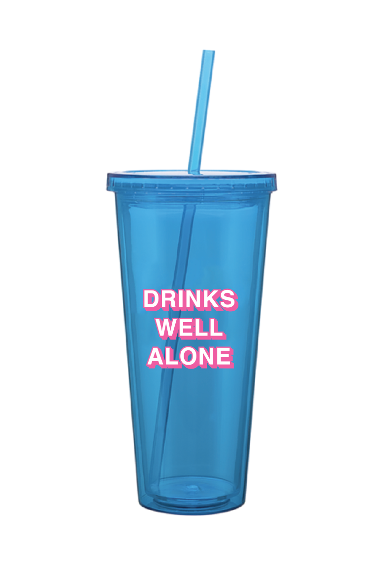 Drinks Well Alone Tumbler