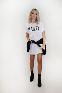 Hailey Oversized T-shirt Dress
