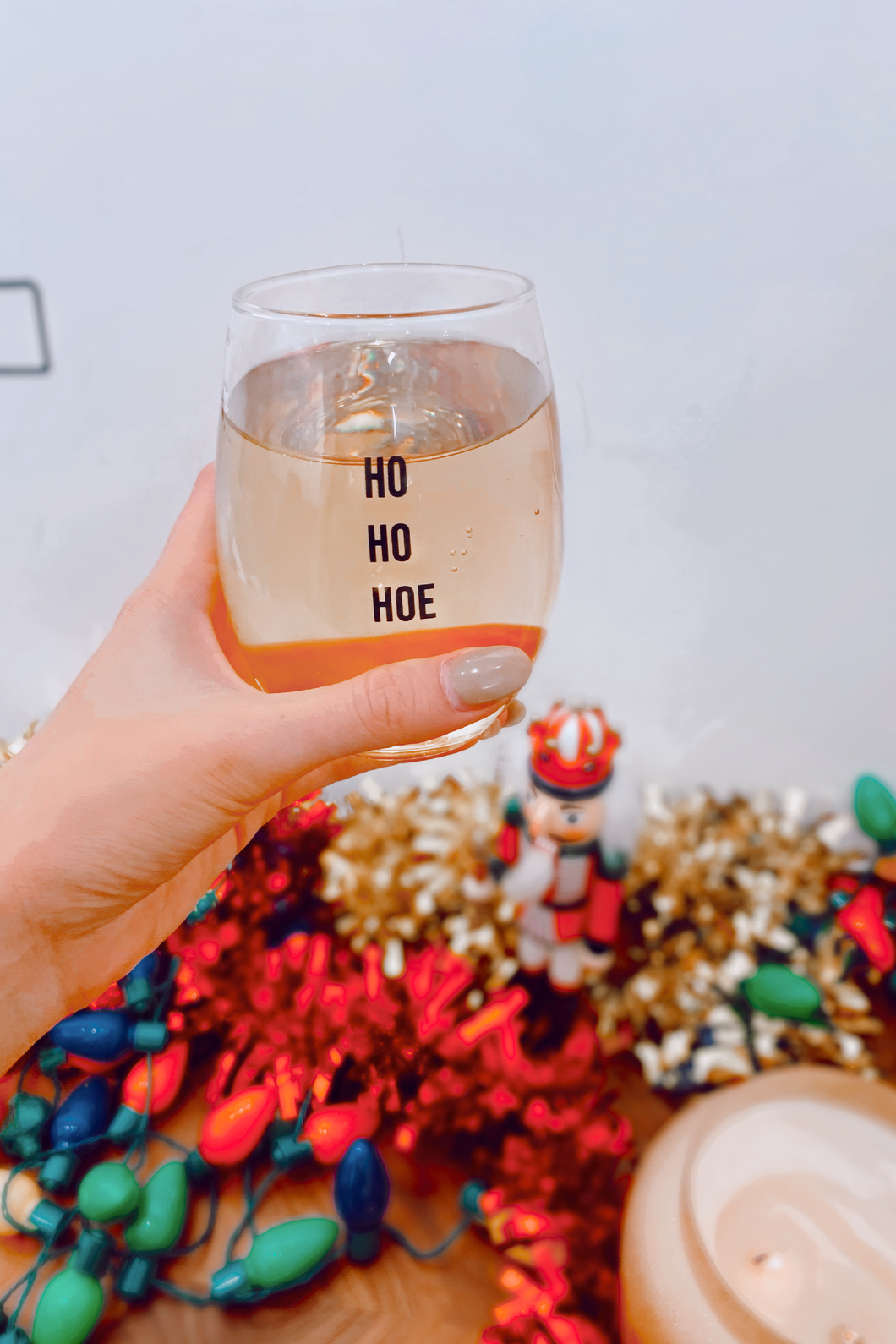 Ho Ho Hoe Wine Glass
