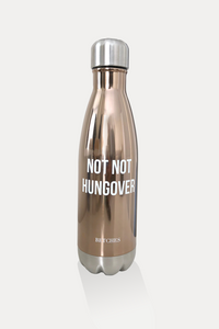 Not Not Hungover Stainless Steel Water Bottle