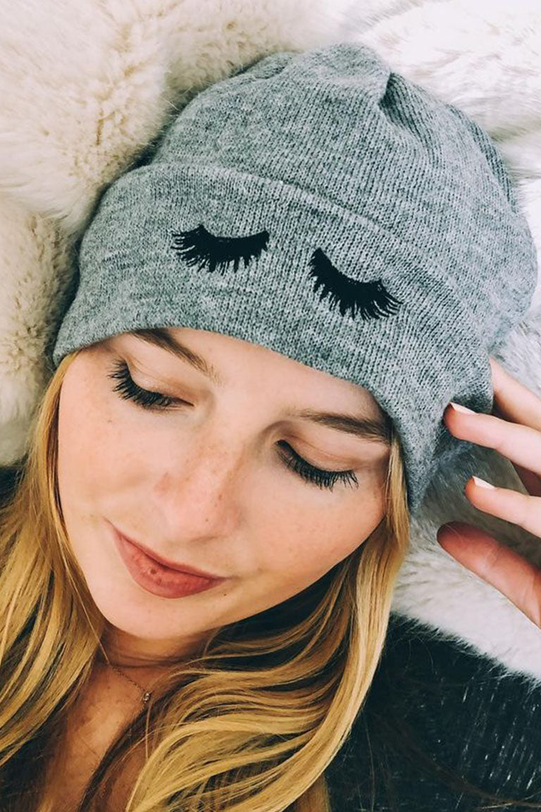 The Lashes Beanie