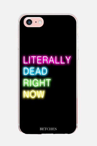 Literally Dead Phone Case