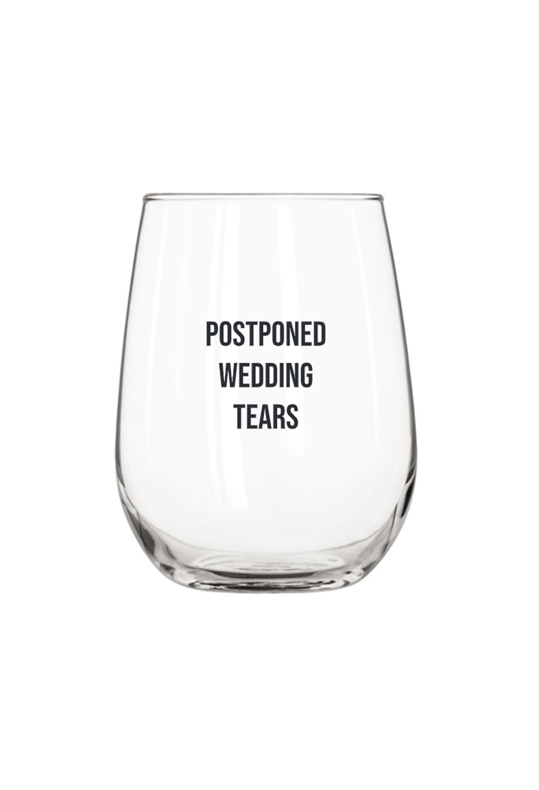 Postponed Wine Glass
