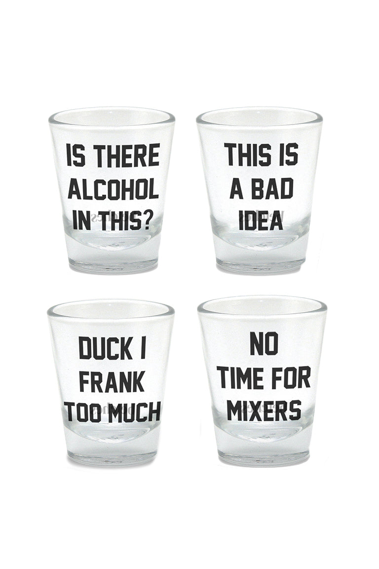 Betches Shot Glass Set
