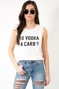 Is Vodka A Carb? Flowy Tank