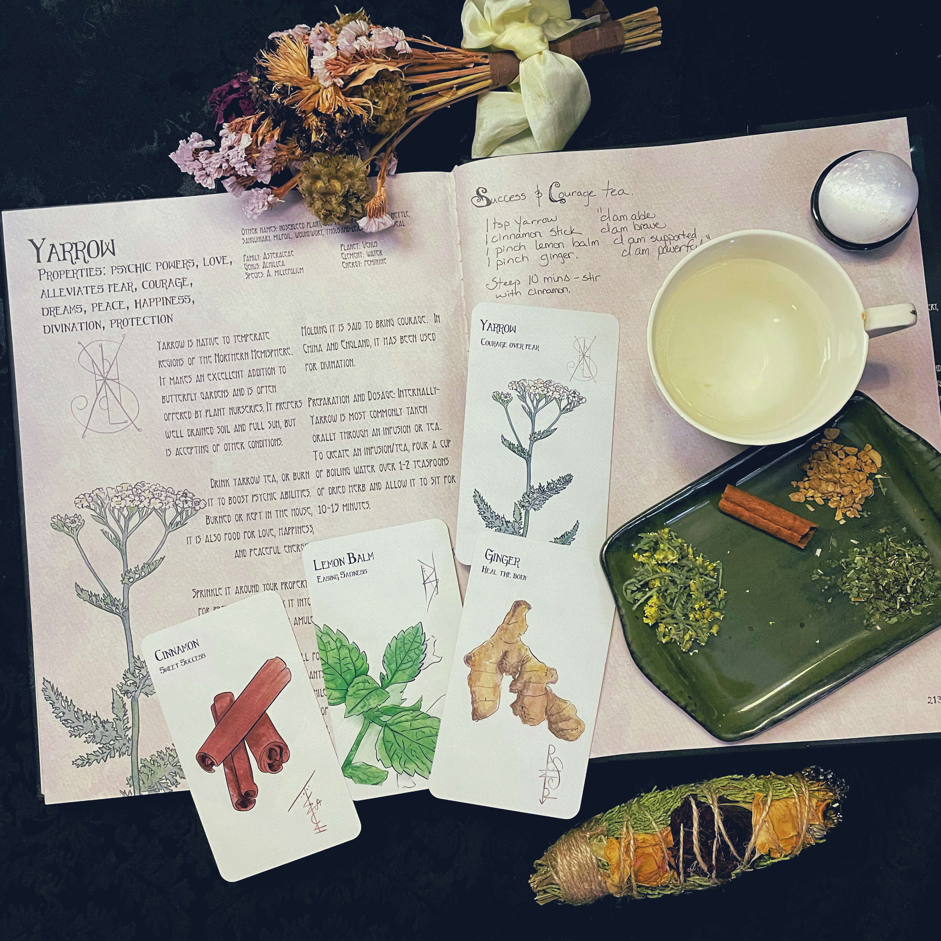 The Likely Herbarium, The Likely Oracle, wolf moon tea