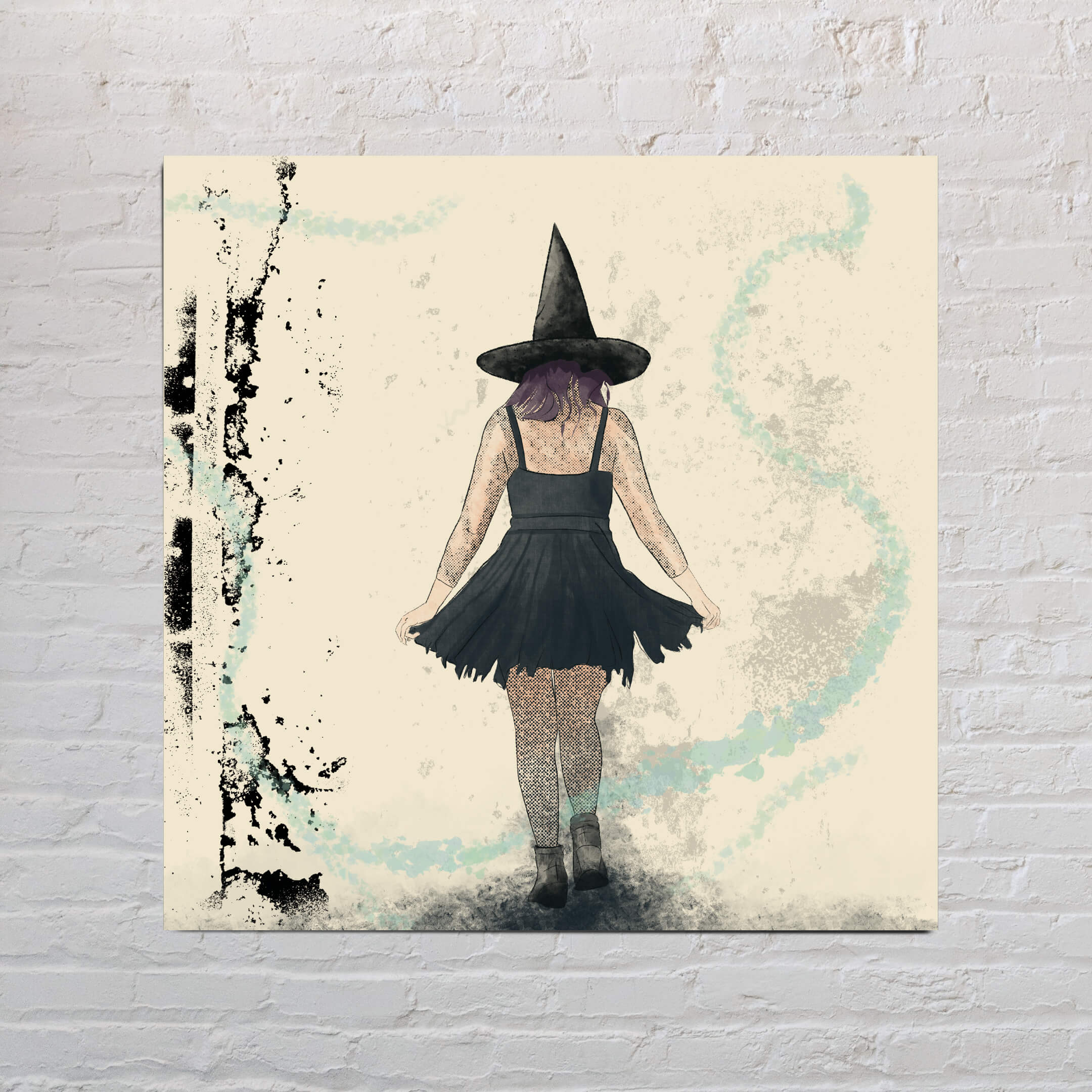 Witch Is Leaving Art Print-Likely Tale Prints