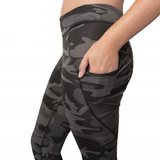 TLS Black Camo Women's Performance Leggings