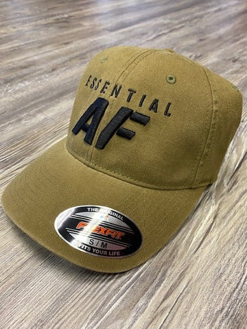 Essential AF Flexfit Garment Washed Ball cap