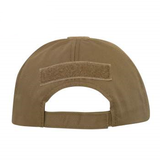 Tactical Ball Cap (Coyote) w/Hook & Loop Field for Patch - OSFM