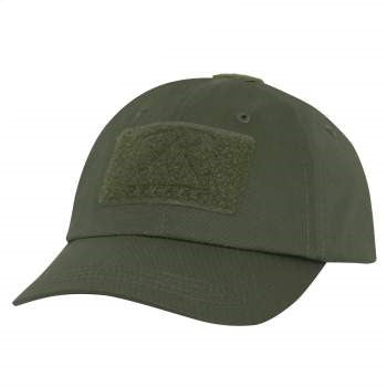 Tactical Ball Cap (OD) w/hook & loop field for patch - OSFM