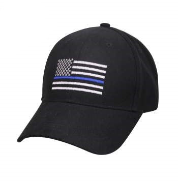 Thin Blue Line Flag  Low Profile Cap - OSFM