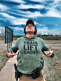 Train Lift Shoot - This is The Way Hoodie (OD) Men's & Women's