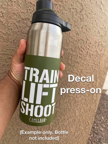 Train Lift Shoot Sticker Decal
