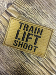 Train Lift Shoot Morale Patch (Tan)