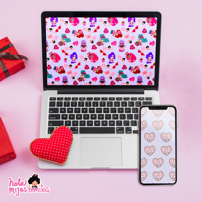 Hola Mijas Bonitas Galentines Desktop Wallpapers