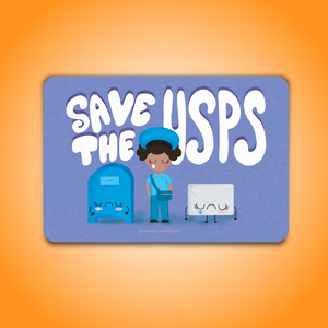 Hola Mijas Bonitas SAVE THE USPS PRINT