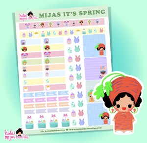 HMB SPRING BIG PLANNER STICKER