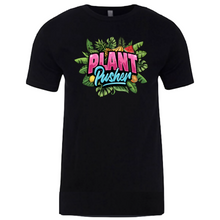 Load image into Gallery viewer, Black PLANT PUSHER (tee)