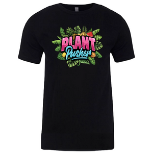Black PLANT PUSHER (tee)