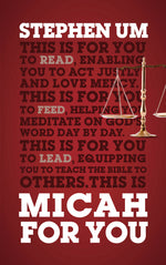 Micah for You book
