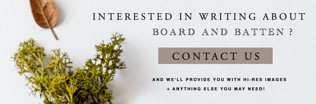 Board and Batten | Press contact