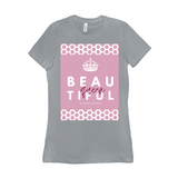 The Beautiful Queen Shirt-Light Logo