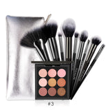 Focallure makeup set Eyeshadow Palette with Brush set Glitter shimmer eye shadow make up Soft for all skin cosmetic