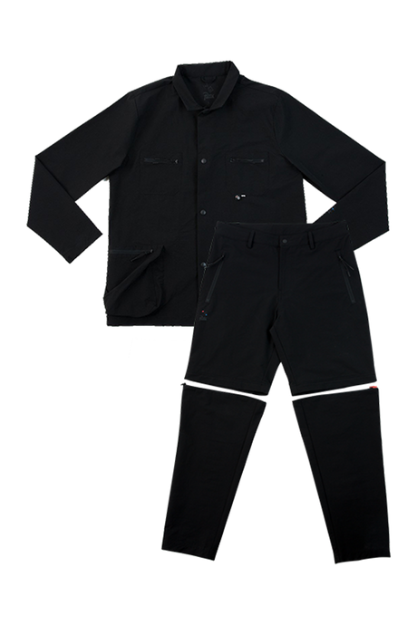 Patta x Bonne Nylon Suit with Zip-Off Pants