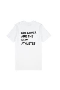 White Creatives Are the New Athletes Tee