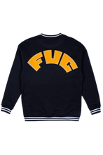 Load image into Gallery viewer, Navy FUC College Sweater