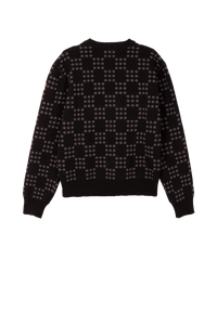 Black Dots On Dots Sweater