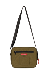 Green 9-Dots Messenger Bag