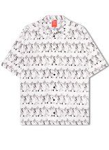 Load image into Gallery viewer, White Marching Mascots All-Over Shirt